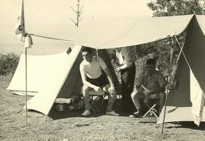 Historia camping Cala Llevado