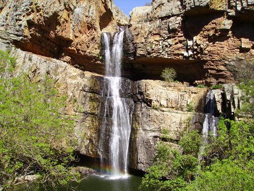 Campings y Bungalow en Andalucía - Camping Despeñaperros Cascada Cimbarra