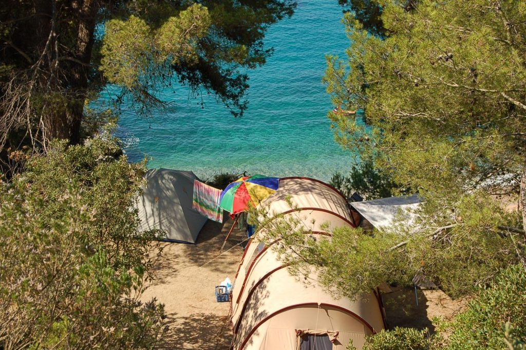 Campings y bungalows en la costa brava